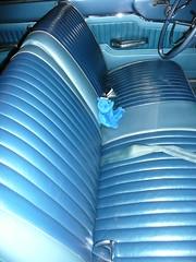 1963 Ford Fairlane 500 Hardtop interior