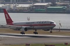 Shanghai Airlines, Boeing 767-36D, B-2498 (RJTT/HND) (SCHIBA7119) Tags: airport aircraft aviation hnd rjtt eos7d