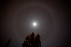 Moon Halo (Dan Stanyer (Northern Pixel)) Tags: sky moon canada night canon photography eos george long exposure bc earth halo prince columbia hour 7d british northern march31 canonefs1585mmf3556isusm