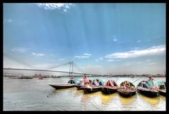 Bengali New Year Morning (Ramanuj's1) Tags: kolkata canonphotography kolkatacalcutta babughat flickrawardmustaward5 0eliteclub thefootmarks