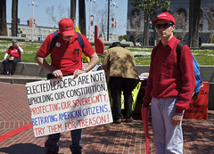 Elected Leaders Are Not (Generik11) Tags: sf people scary politics protest tools fools idiots rightwing teaparty morons sfist unamerican gullible fascists sfweekly authoritarian americantaliban easilyled teabaggers financedbykochindustries