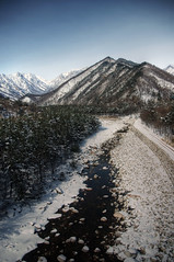 seoraksan national park korea (mariusz kluzniak) Tags: park winter portrait snow mountains river landscape asia view path sony south north korea east national alpha peninsula incredible far seoraksan 580 sorak the4elements a580