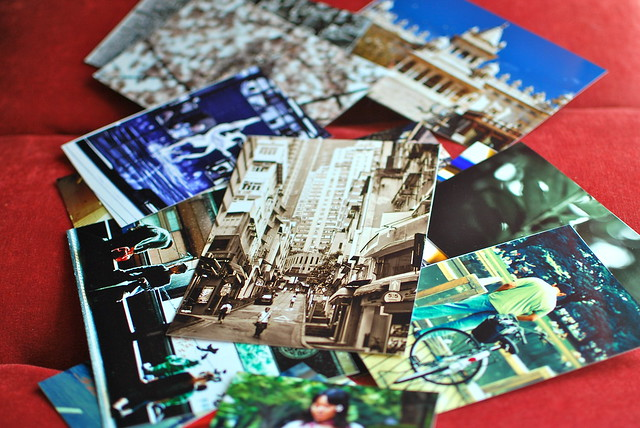 Photo postcards