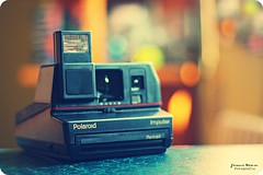 Snap it ! (Yavanna Warman {off}) Tags: camera old film colors analog vintage polaroid 50mm analógica dof bokeh colores f18 carrete cámara película polaroidimpulse yavanna cámaraanalógica yavannawarman