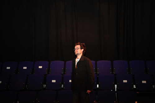 A portrait of Martin Hopking at the Advance Film Present Pitch First feature