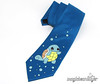 Hand-Painted Squirtle Pokemon Necktie (magicbeanbuyer) Tags: blue wedding anime men nerd groom geek handmade turtle nintendo cartoon tie bubbles gamer handpainted pokemon videogame custom groomsmen quirky necktie geeky squirtle nerdy accessory watertype magicbeanbuyer