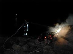 Brannslukking (Redningsselskapet) Tags: brann brannslukking assistanse