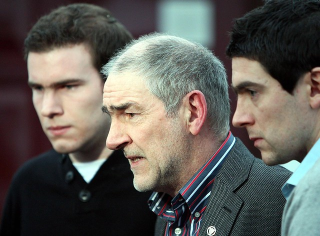 Mickey Harte and sons