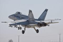 NAS Lemoore (mvonraesfeld) Tags: flying fighter military flight navy 94 strike hornet f18 douglas takeoff base usn nas squadron mcdonnell fa18 lemoore vfa94 mightyshrikes img8691