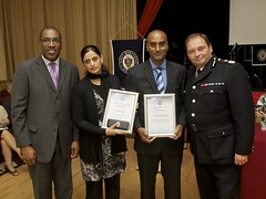 Day 196 - West Midlands Police - Brave officers gain awards (West Midlands Police) Tags: life rescue fire evening pc birmingham cops ceremony certificate award east cop brave recognition reward officer heroic lifesaver bravery saves iqbal pcso westmidlandspolice smallheath chrissims commendation chiefconstable goodcitizensaward