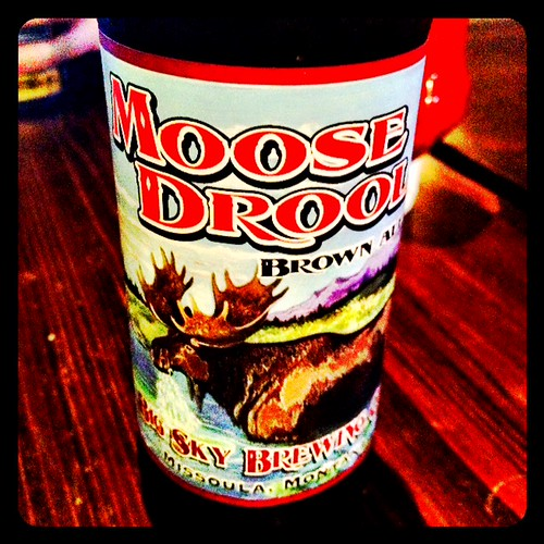 Moose Drool Brown Ale @ Lucky 13