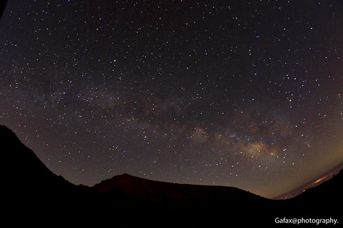 Milky way in the Mulhacen
