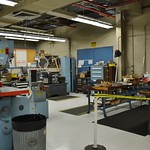 The wind tunnel model shop
