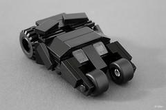 Lego Batman mini Tumbler – Reloaded (_Tiler) Tags: car lego mini batman vehicle dccomics batmobile batmanbegins moc tumbler thedarkknight miniscale thedarkknightrises tdkr