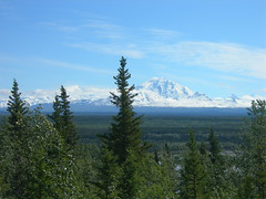 Mt Drum across the Valley (jimmywayne) Tags: alaska nationalpark valley oil mtdrum nationalpreserve copperriver richardsonhighway wrangellstelias wrangellmountains valdezcordovacensusarea