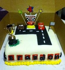 Cars Cake by Amy A, Birthday Cakes 4 Free Santa Cruz, Ca.