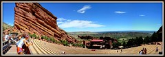 Red Rocks State Park - 2 (mastrfshrmn) Tags: statepark red sky panorama nature field outdoors photo scenery colorado colorful amphitheatre picture denver photograph redrocks amphitheater morrison hdr