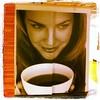 Tür (austrianpsycho) Tags: door woman cup tasse linz square kaffee piercing squareformat frau tür griff lordkelvin möbelhaus xxxlutz iphoneography instagramapp uploaded:by=instagram