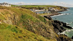Cliffs on the South Upland Way (Jani Helle) Tags: scotland portpatrick dumfriesandgalloway portphdraig september2011 southuplandway