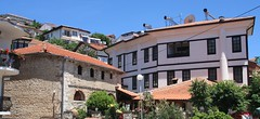 Ohrid, Macedonia () (LeszekZadlo) Tags: road street city house building heritage history cars home architecture town site europe unesco worldheritagesite macedonia ohrid historical balkans patrimonio fyrom  ph478