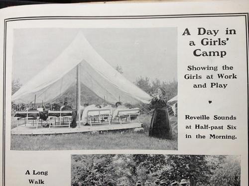 Summer camp, 1909