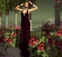 Molichino Limited Edition Jaci Dress at Couturier Docks (l  n d  . r  d d  v  l) Tags: mandala slink blackliquid molichino