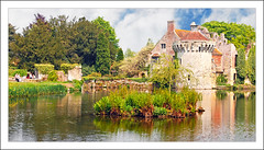 Scotney Castle (Elaine 55..) Tags: trees lake castle castles water reflections kent nationaltrust palaces cottages statelyhomes scotneycastle thegalaxy manorhouses mygearandme mygearandmepremium dblringexcellence flickrsfinestimages1 flickrsfinestimages2 flickrsfinestimages3