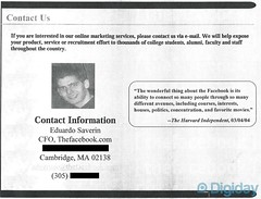 Facebook Sales Presentation from 2004