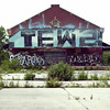 t e w z (maxwell.arnold) Tags: urban chicago blur brick art square photography graffiti artwork paint garage exploring tag debris cement gang tags brush warehouse explore abandon chi squareformat rubbish block spraypaint tones tagging deserted oldbuilding tiltshift tewz abandonchicago