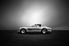 Ferrari 275 GTB (Joel Tjintjelaar) Tags: blackandwhite bw ferrari275gtb tjintjelaar blackandwhitefineartautomotivephotography bwfineartcarphotography bwfineartcar fineartcarphotography