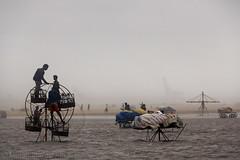 Strategic view of Cyclone (Light and Life -Murali முரளி) Tags: sea beach rain marina fun evening wind shore dust chennai cyclone strom tamilnadu nilam puyal mg3242s