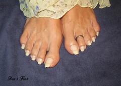 Dee's Feet (Alex9_9) Tags: sexy feet foot long toenails toenailsfeettoestoerings