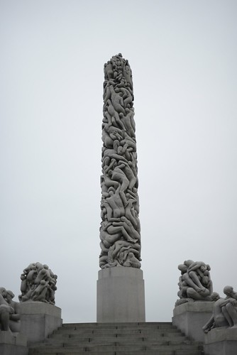 Obelisk at Frogner Park, Oslo, Norway
