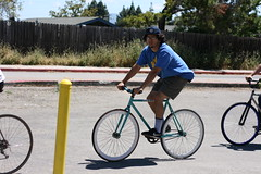 Bike people of Silicon Valley Bicycle Festival 2016 (Richard Masoner / Cyclelicious) Tags: cycling sanjose bikes bicycles fixie fixedgear bollard kelleypark historysanjose siliconvalleybicyclefestival