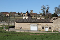 Village de Bourgogne (Chemose) Tags: roof france canon eos countryside spring village burgundy 7d april toit bourgogne campagne avril printemps bourguignon polychrome bourgognedusud sologny southburgundy burgundish