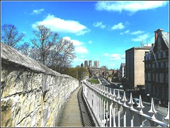 City of York .. (** Janets Photos **) Tags: york uk cities yorkwall minsters