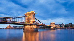Budapest bridge (Valentin Alexandru) Tags: city bridge blue sky colors rain yellow clouds photoshop canon nikon budapest bridges parliament palace 7d 5d drama danube edit d5 d800 6d d4 budapesta dunarea d810