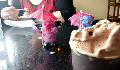 Cooling Off (Georgie_grrl) Tags: toronto ontario yummy tasty gelato zombies pitstop parasols pedestriansunday itwasahotonetoday may2016 hangingwithmskat springshootingshenanigans