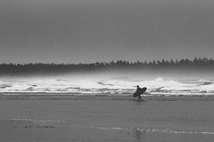 (blinkd.ca) Tags: blackandwhite surfing longbeach tofino surfers pacificrim