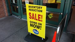 Inventory Reduction SALE! Going on NOW! (Retail Retell) Tags: kroger grocery store s perkins east memphis tn former schnucks seessels albertsons industrial circus decor shelby county retail