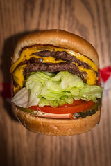 In-N-Out (EvanJawnson) Tags: arizona food tomato 50mm nikon burger fastfood az sandwich latenight lettuce burgers onion nikkor innout tempe foodie tempetownlake foodphotography animalstyle d7100 nikond7100