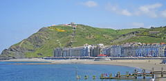 Sun, sea, sand and Aberystwyth, Wales (Rosie Girl1) Tags: summer people beach wales buildings seaside aberystwyth promenade ceredigion constitutionhill 2016 patevans hinterland summersday colourfulbuildings welshseaside rosiegirl boatlandingstage rosiegirl1 therosiegirl therosiegirl1 yconsti