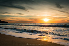Sweet Spot (Adam.Kawasawa) Tags: redondobeach losangeles ocean sea coastal coast california beach water sunset sunscape peace love landscape seascape waves clouds nature los angeles la orange blue natural light sun