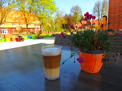 Latte auf der Laga Eutin (Sophia-Fatima) Tags: deutschland schleswigholstein eutin lattemacchiato ostholstein imschlossgartenundmehr landesgartenschaueutin