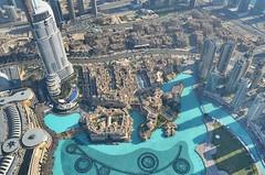 Top of Burj Khalifa building, Dubai, United Arab Emirates (fabriziocaradonna) Tags: landscape city building burjkhalifa arab asia emirates uae