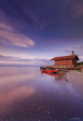 The Boat House (paulosilva3) Tags: portugal sunrise canon de lee filters ria cloudscape aveiro manfrotto waterscape lowepro riverscape