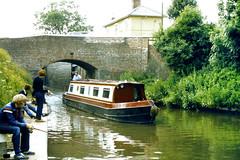 Slide 060-64 (Steve Guess) Tags: uk bridge england canal lock pegasus derbyshire trent gb mersey derbys