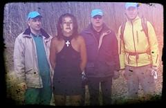 Dans les bois (photophil16) Tags: sexy nature femme mini jupe extrieur bois homme croix bucheron salope