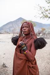 Himba Woman 3916 (Ursula in Aus - Away) Tags: otjomazeva namibia himba africa environmentalportrait