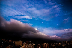 Cold front! (Diogo Bessa) Tags: moon rio landscape nikon tokina1224 tokinalens nikond80 thewinteriscoming